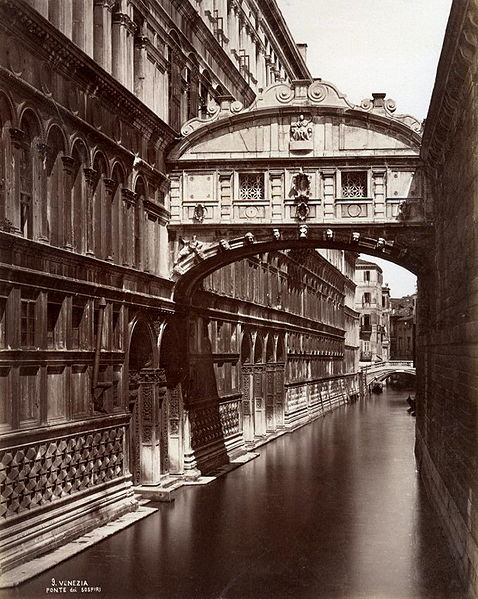 File:Naya, Carlo (1816-1882) - n. 09 - Venezia - Ponte de' sospiri.jpg