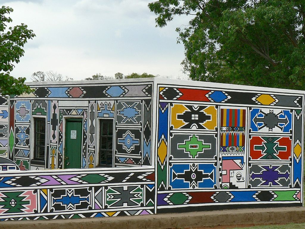 Ndebele House Painting Wikipedia