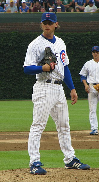 Neal Cotts - Cotts during his tenure with the Chicago Cubs in 2008