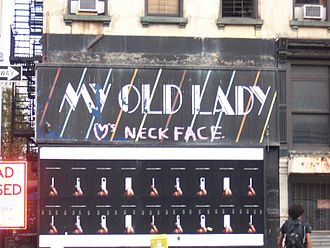 Neck Face - Neck Face tag on My Old Lady storefront