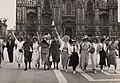 Nederlandse voetbalsupporters in Milaan, WK 1934 - Dutch football supporters in Milan, 1934 World Cup (4681896516).jpg