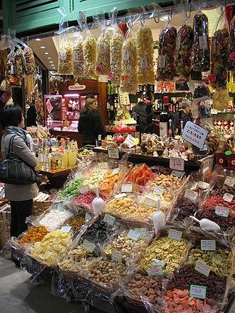 Pasta al Mercato Centrale di Firenze.