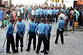 Nepal police on duty at Fulpati 2013 at Kathmandu Durbar Square, Nepal.jpg