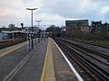 New Cross station northbound mainline platform look south2.JPG