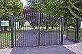 New entrance gates to Oakwood Park, London N14 - geograph.org.uk - 860186.jpg