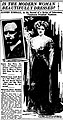 Newspaper article in The Evening World (N.Y.) about artist Alonzo Myron Kimball, 1912.jpg