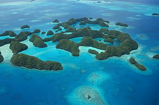 Rock Islands Collection of reef islands in Palau