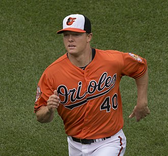 Nick Hundley - Hundley during his tenure with the Baltimore Orioles in 2014
