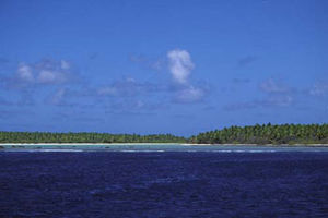 Nikumaroro from sea AKK.jpg