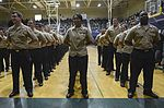 Nimitz petty officer frockees stand at parade rest 151125-N-CE703-050.jpg