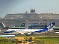 Nippon Cargo Airlines In Front Of TPE T2.JPG