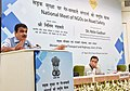 Nitin Gadkari addressing at the inauguration of a National Workshop for NGO's working for Road Safety, in New Delhi (1).JPG