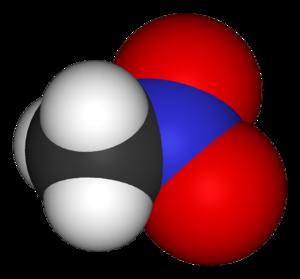 Nitromethane - Image: Nitromethane 3D vd W
