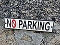 No Parking Sign, Back Road East, St Ives.jpg