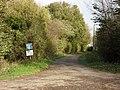 No through road in Hannington Wick - geograph.org.uk - 1599710.jpg