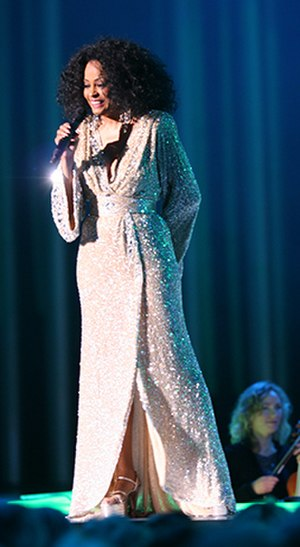 Diana Ross - Diana Ross performing at the 2008 Nobel Peace Prize concert in Oslo