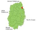 Noda Iwate Map.png