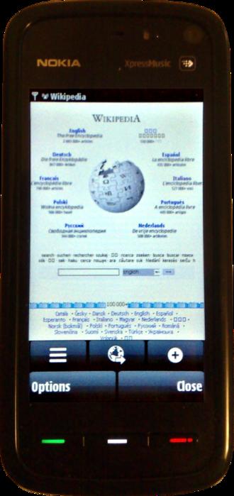 XpressMusic - Nokia 5800