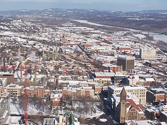 North Albany, Albany, New York - North Albany as seen from the Corning Tower