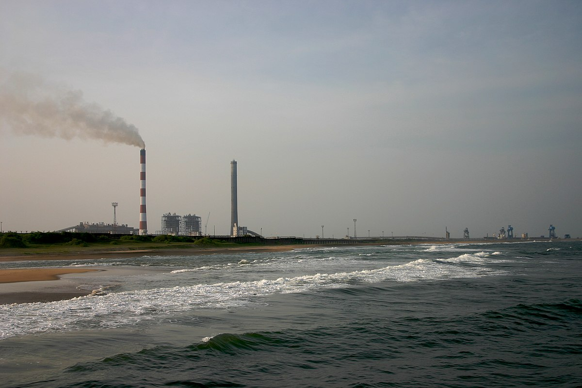 Thermal Power Station : North chennai thermal power station wikipedia