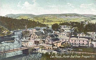 Lee, Massachusetts - Image: North End from Prospect St., Lee, MA
