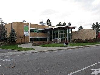 North Idaho College - Image: North Idaho College Meyer Building 2018