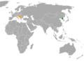 North Korea Yugoslavia Locator.png