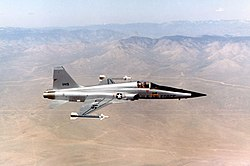 Northrop F-5E (Tail No. 11419) 061006-F-1234S-070.jpg