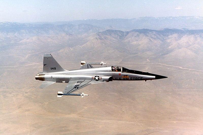 File:Northrop F-5E (Tail No. 11419) 061006-F-1234S-070.jpg