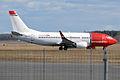 Norwegian, LN-KHB, Boeing 737-31S (16269208500).jpg