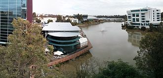 Norwest, New South Wales - Image: Norwest Lake