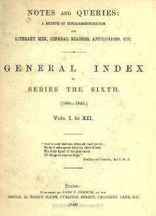 Notes and Queries - Series 6 - General Index.djvu