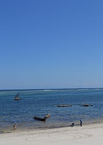 Nyali Beach from the Reef Hotel during high tide in Mombasa, Kenya 49 (edited).jpg