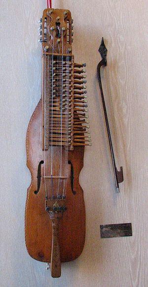 Nyckelharpa - Image: Nyckelharpa built by Eric Sahlstrom