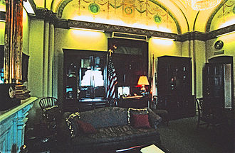 Speaker of the United States House of Representatives - The speaker's office in the US Capitol, during the term of Dennis Hastert (1999 to 2007)