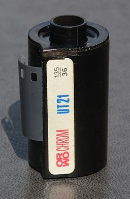 ORWO Orwochrom UT21 - 135 film for colour slides