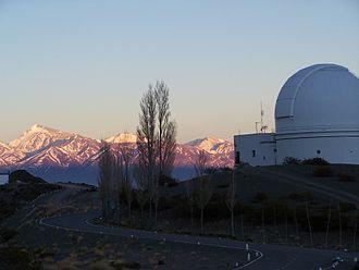 El Leoncito National Park - Image: Observatorio El Leoncito, Calingasta