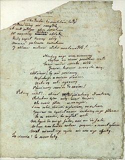 poem written by Adam Mickiewicz