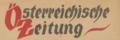Oesterreichische Zeitung TitelKopf.png