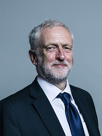 Leader of the Labour Party (UK) - Image: Official portrait of Jeremy Corbyn crop 2