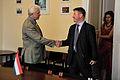 Ojāra Ērika Kalniņa tikšanās ar Ungārijas Ārlietu ministrijas valsts sekretāra vietnieku (9215975206).jpg