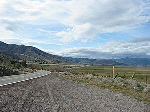 U.S. Route 99 in California - Old 99 Highway in Siskiyou County, California.