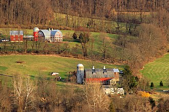Independence Township, New Jersey - Pequest River Valley farms