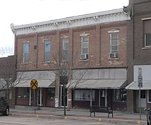 Old Gray County Kansas courthouse from NE 1.JPG