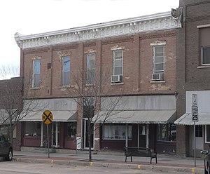Gray County, Kansas - Image: Old Gray County Kansas courthouse from NE 1
