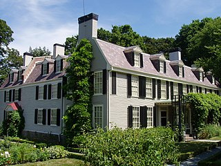 Peacefield building in Massachusetts, United States