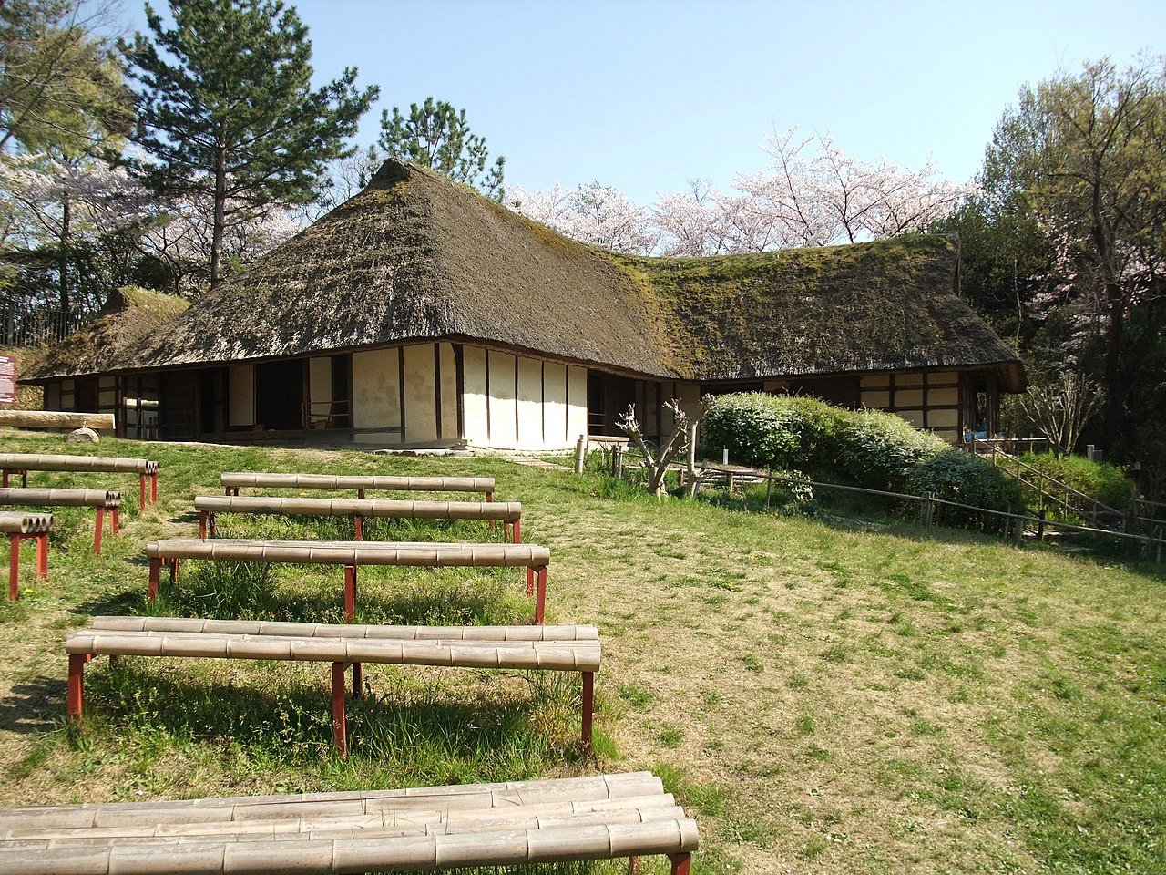 file old japanese houses museum iwate jpg wikimedia commons