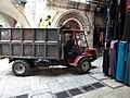 Old Jerusalem Al-Wad street mini tractor Caron Serie 500-600.jpg