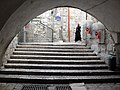 Old Jerusalem stairs and Pay phones.jpg