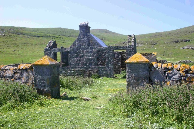 Old School house Mingulay